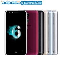 Doogee Y6 Отпечатков Пальцев мобильные телефоны 5.5 Дюйма HD 2 ГБ + 16 ГБ Android6.0 Dual SIM MTK6750 Qcta Core 13.0MP 3200 мАч WCDMA LTE GSM GPS