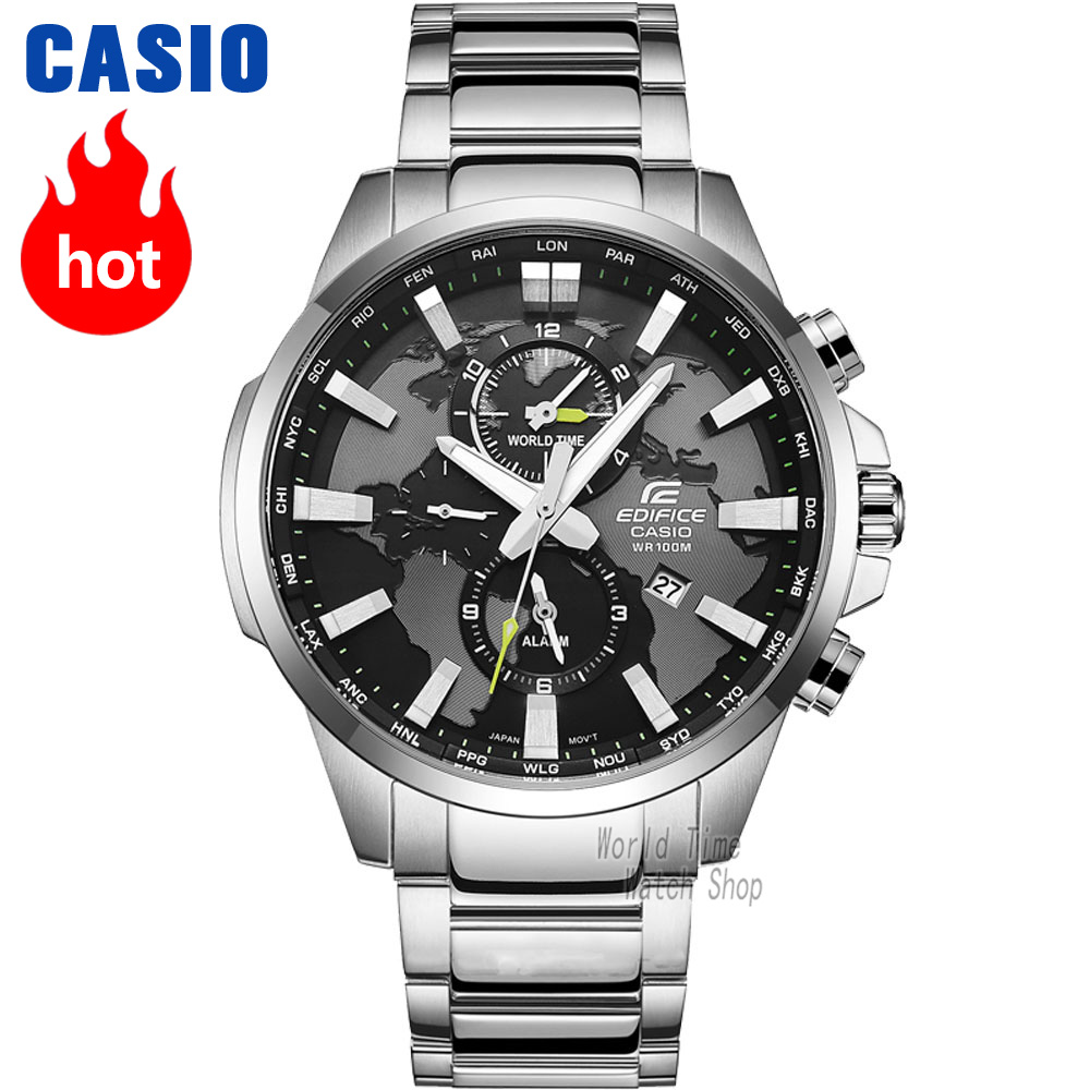 цена Casio watch Fashion business waterproof watch EFR-303D-1A EFR-303D-7A EFR-303L-1A онлайн в 2017 году