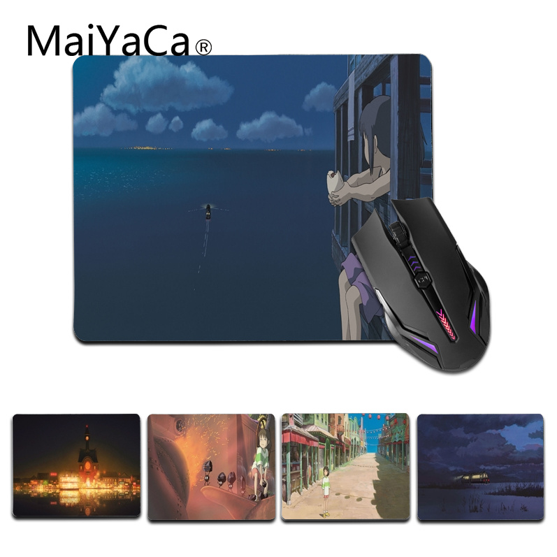 MaiYaCa New Arrivals Miyazaki Anime Customized laptop Gaming small mouse pad Size for 25X29cm Silicon Mousemats ...