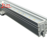 Durable using low price led linear tube light 12w red color with ip65 waterproof