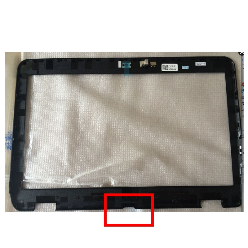 Free shipping New LCD Front Bezel for Dell for Inspiron 14R N4110 M411R M4110 Black B shell Screen|dell n4110|bezel lcddell inspiron - AliExpress