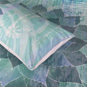 Image 5 - CAMMITEVER Lotus Mandala Print Bedding Set Queen Size Floral Pattern Duvet Cover Bohemian Bedclothes Lotus Bed Set
