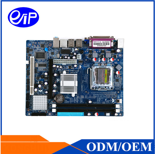 US $47 0  Cheap Price Intel 945 LGA775 socket motherboard with Intel  Pentium 4 PS2 Chip ISA DDR2 Core 2 Duo 945GV micro ATX mainboard-in  Motherboards