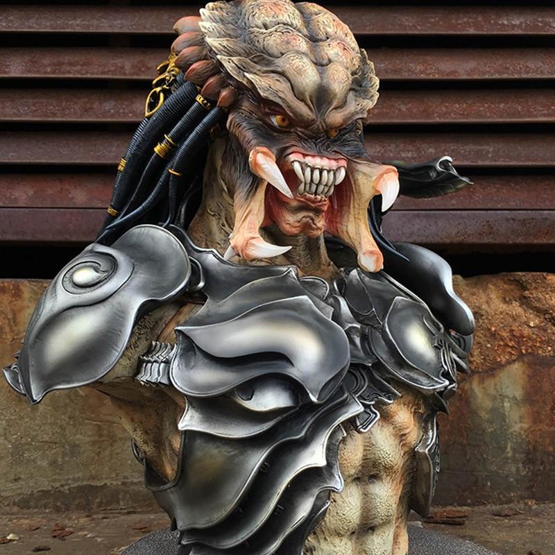New 1/2 Scale PREDALIEN Predator MaxFactory Figma Alien Bust Statue Collectible 38cm H dysprosium metal 99 9% 5 grams 0 176 oz