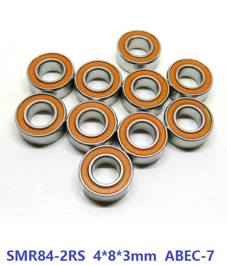 6pcs or 10pcs SMR84-2RS SMR84RS 4x8x3 mm ABEC7 Stainless Steel hybrid Si3n4 ceramic bearing for fishing reel bearings 4*8*3 1pcs fishing reel bearing s686 2rs abec 7 6 13 5 stainless steel hybrid ceramic ball bearings s686rs s686 2rs cb 6x13x5 mm