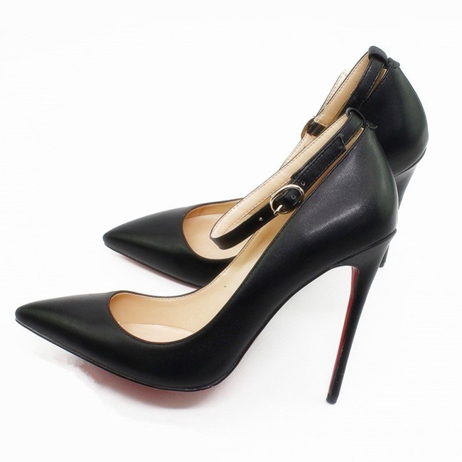 Autumn Sexy Black Women Shoes High Heels Elegant Office Pumps Shoes Women Leather Pointed Toe Luxury Singles Shoes C027A