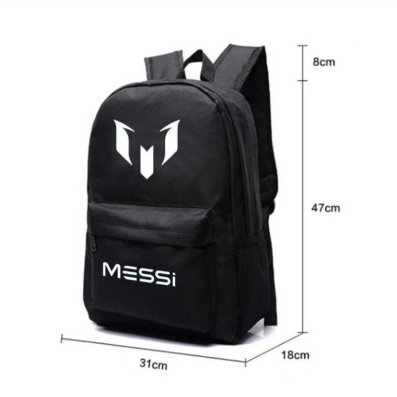 bd76e17445df ... Logo Messi Backpack Bag Men Boys Barcelona Travel Bag Teenagers School  Gift Kids Bagpack Mochila Bolsas