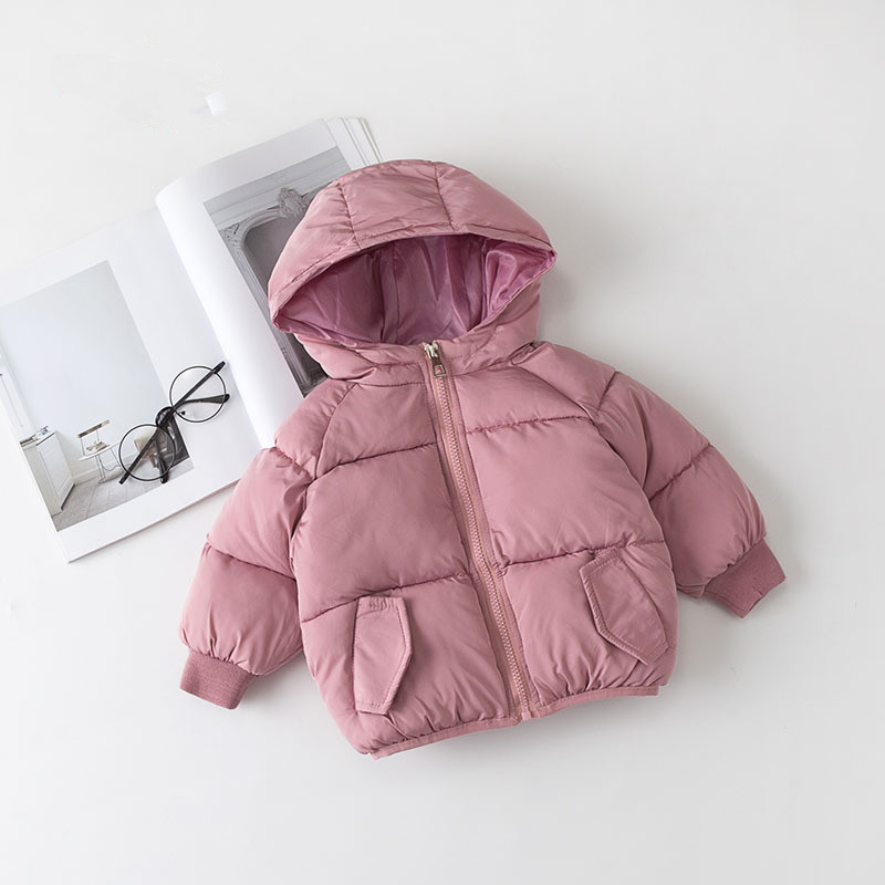 Winter Jacket Girls Children Fashion Parkas Coat Hooded Thick Warm Banana Printed Coat Jacket Girls Outerwear High Quality цена