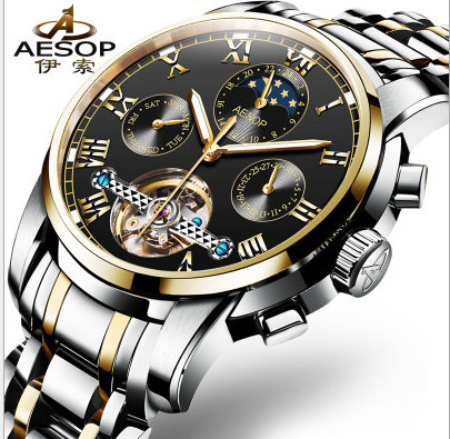 Relogio Masculino Mens Watches Top Brand Luxury Automatic Mechanical Watch Men Full Steel Business Waterproof Sport Watches