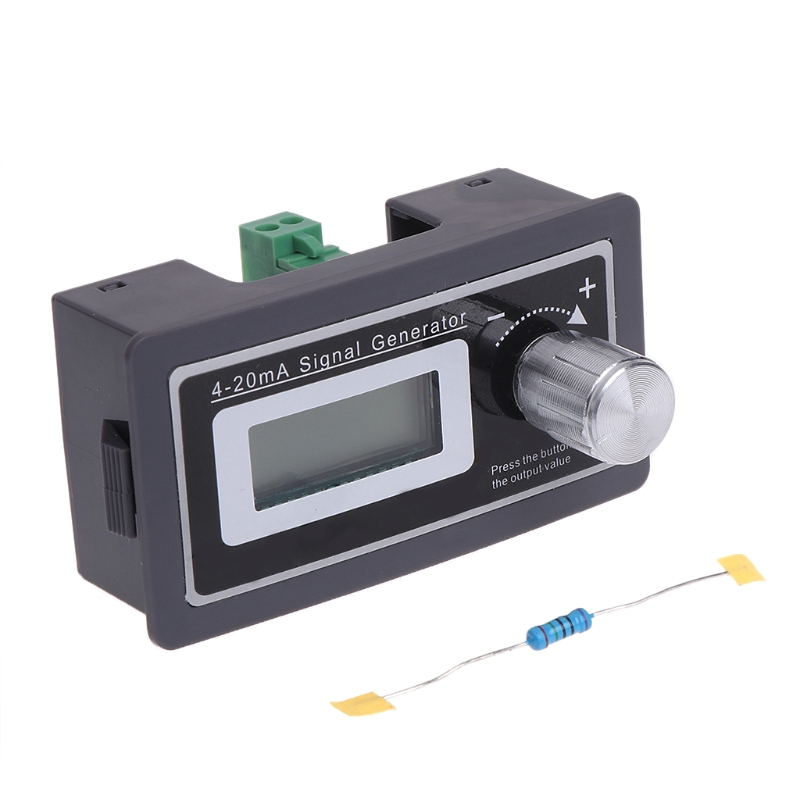 4-20mA Signal Generator Current Transducer Load Tester PLC Instrument LCD Two Wire Output hall current sensor transducer current sensors output 4 20ma 0 5v 0 250a 25mm hole diamter