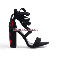85c304489 Choudory NEW Women Sandals Summer Shoes Floral Print Sandals High Heels  Gladiator Women Shoes Open Toe