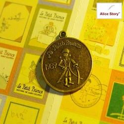Винтаж Металл Маленький принц кулон бронзовая подвеска-Шарм DIY дневник тетрадь интимные аксессуары