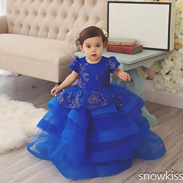 Cute Baby Girl In Blue Dress | www.pixshark.com - Images ...