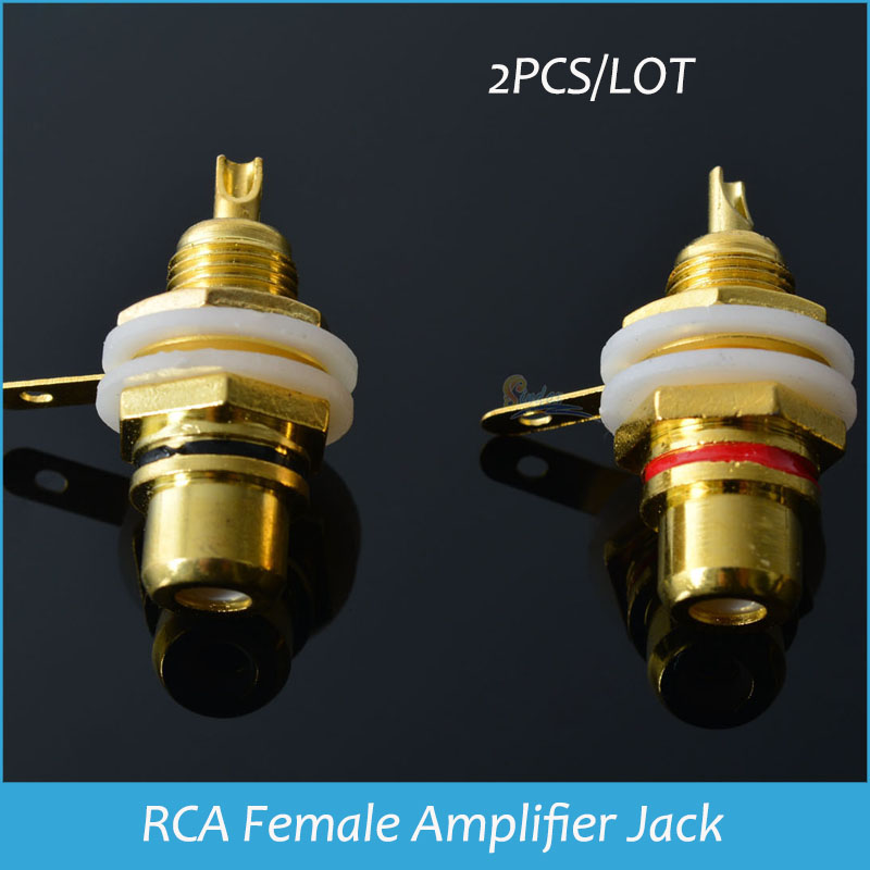 aliexpress com buy sindax rca panel mount connector rca female aliexpress com buy sindax rca panel mount connector rca female socket rca panel mount audio socket plug connector bulkhead nut er cup 2pc from