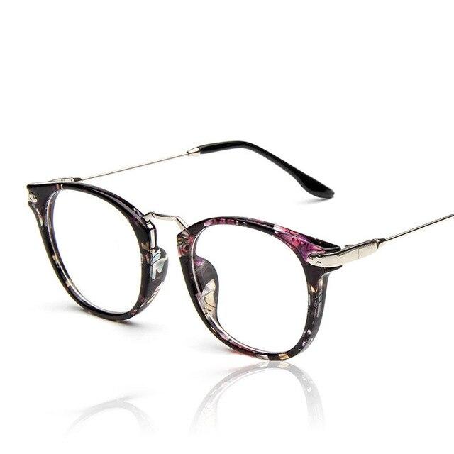 2016 ретро очки металлический каркас ноги отличное качество очки женщина мужчина мода очки 9355