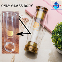 IHOOOH only Glass cup parts for Hydrogen water generator or MRETOH water Ionizer 600ml Strengthen immunity Glass cup parts