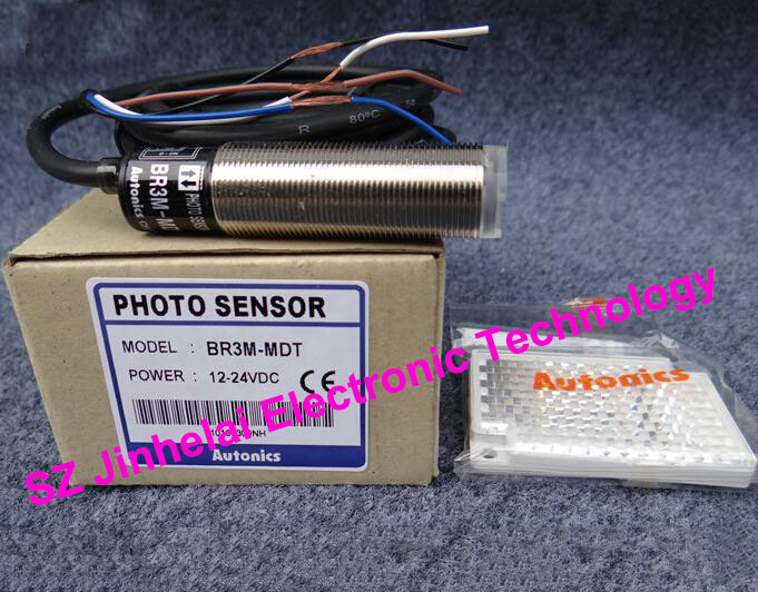 100% New and original  BR3M-MDT   AUTONICS  PHOTOELECTRIC SWITCH    12-24VDC new and original brp3m mdt brp3m mdt p autonics photoelectric switch 12 24vdc