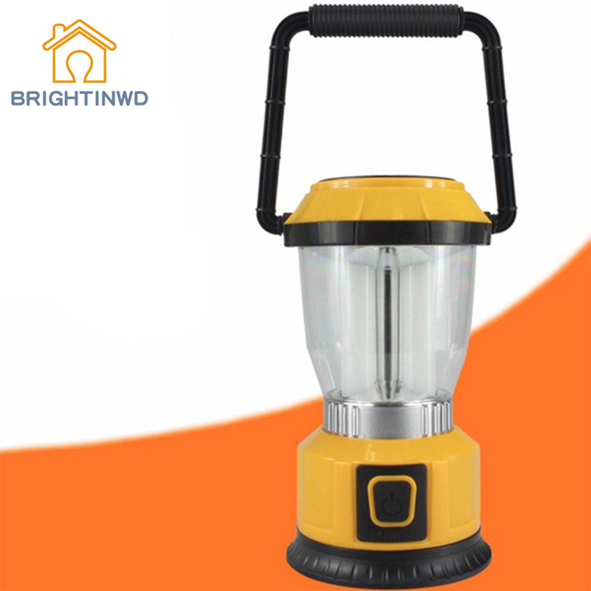 BRIGHTINWD LED Outdoor Camping Light Energy Saving Hiking Tent Lantern 30 Lumens Lanterns Use 3 AA batteries Portable Lanterns