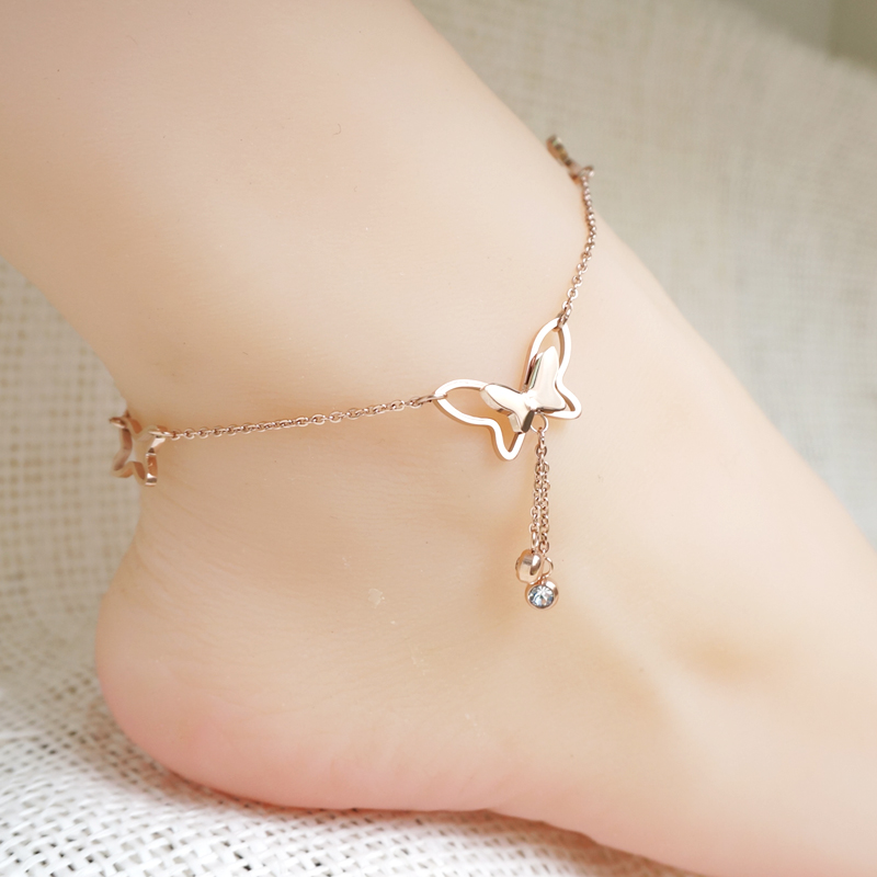 Free shipping 2016 Summer Fashion Jewelry New Arrival 925 Sterling Silver 18k Rose Gold Plated Star