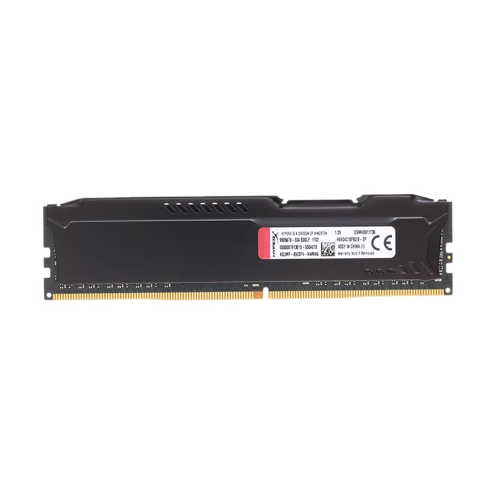 Kingston HyperX FURY 8GB 16GB 2400MHz Memory RAM DDR4 Ram DIMM Memory Intel Memoria Ram Desktop PC Computer Memory Stick