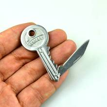 Mini Blade fold key knife Peeler Pare Peel gadget Package Box letter Opener Open Survive Pocket Tool