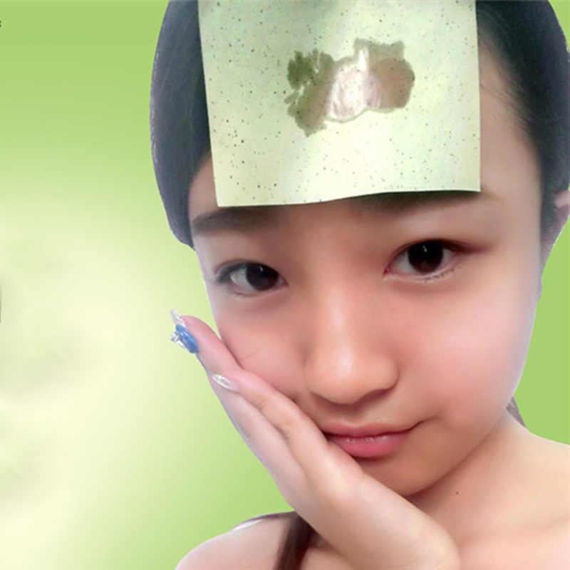 80 sztuk/paczka chusteczki do twarzy papiery zielona herbata zapach makijaż oczyszczanie oleju pochłaniające papieru zaabsorbować płyn do demakijażu twarzy narzędzie