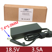 original quality 18.5V 3.5A AC Adapter Charger For hp CQ35 G50 G60 G61 G70 DV5 DV6 DV7 DV4 4310s 4410s 4415s 4416s 4510s 4515s 585219 001 for hp probook 4415s 4515s 4416s motherboard 4510s notebook for hp probook 4415s notebook for amd free shipping
