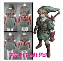 Nuevo llega la leyenda de Zelda Zelda enlace Cosplay hombre mujer ropa cualquier talla envío gratis
