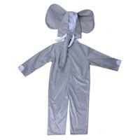 Baby Elephant Costume Kids Animal Onesies Elephant Cosplay Fancy Dress Animal Costume Jumpsuit With Headwear Toddlers