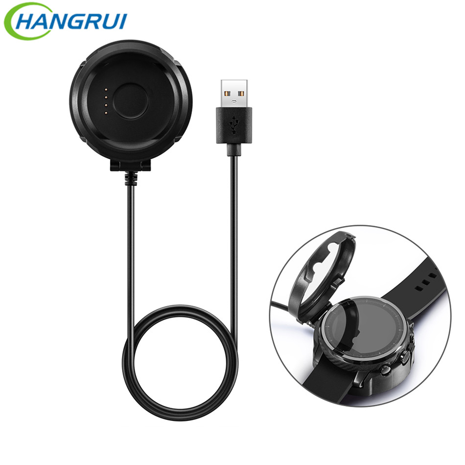 HANGRUI Replacement Charging Cable Cradle Charger For Xiaomi Huami Amazfit Stratos 2 Pace Chargers Usb For Amazfit 2 Stratos