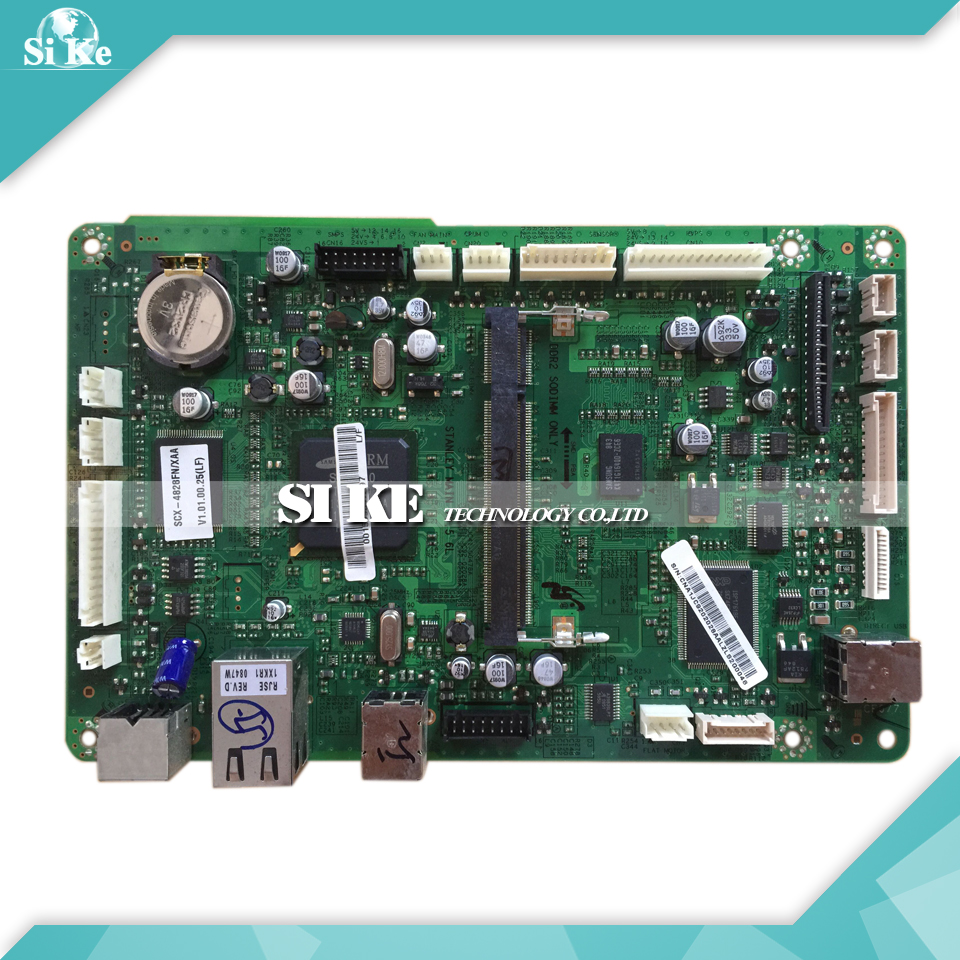 Printer Logic Main Board  For Samsung SCX-4828FN 4828FN 4828 Formatter Board Mainboard brand new printer spare parts logic board laserjet for hp175nw 175n 175a formatter board main board