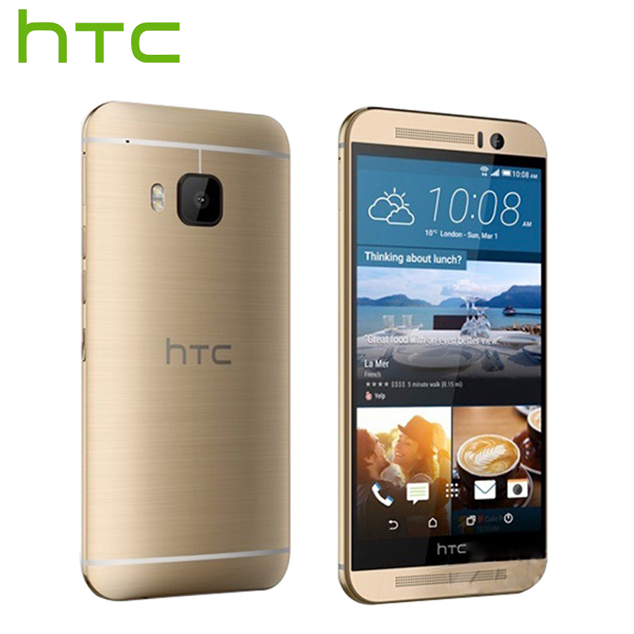 Sprint Version Original HTC One M9 4G LTE Mobile Phone Octa Core 3GB RAM 32GB ROM 5.0inch 1920x1080 Rear Camera 20MP CellPhone image