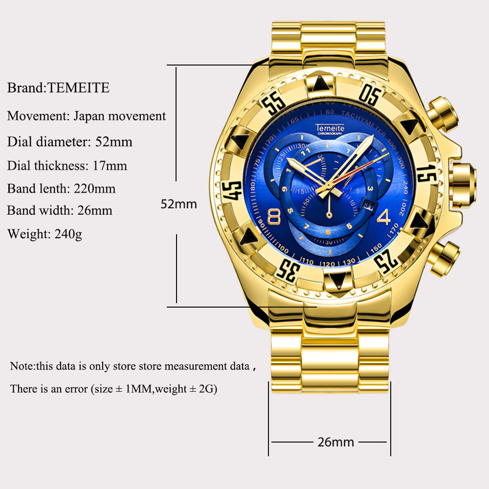 High Quality watch brand luxury