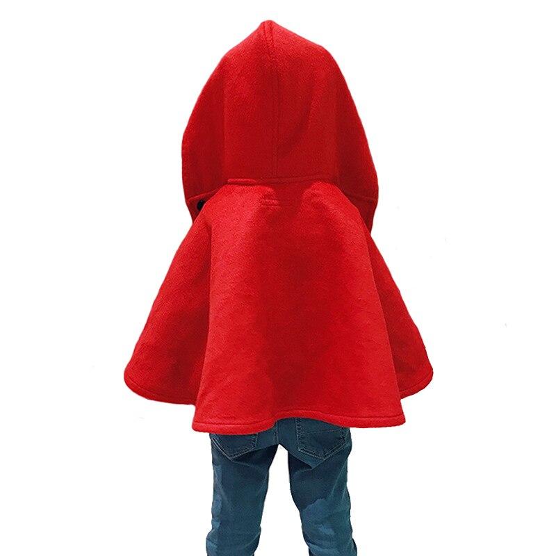 Marque filles laine manteau laine châle bébé vêtements enfants manteau de haute qualité 3y-8y - 2