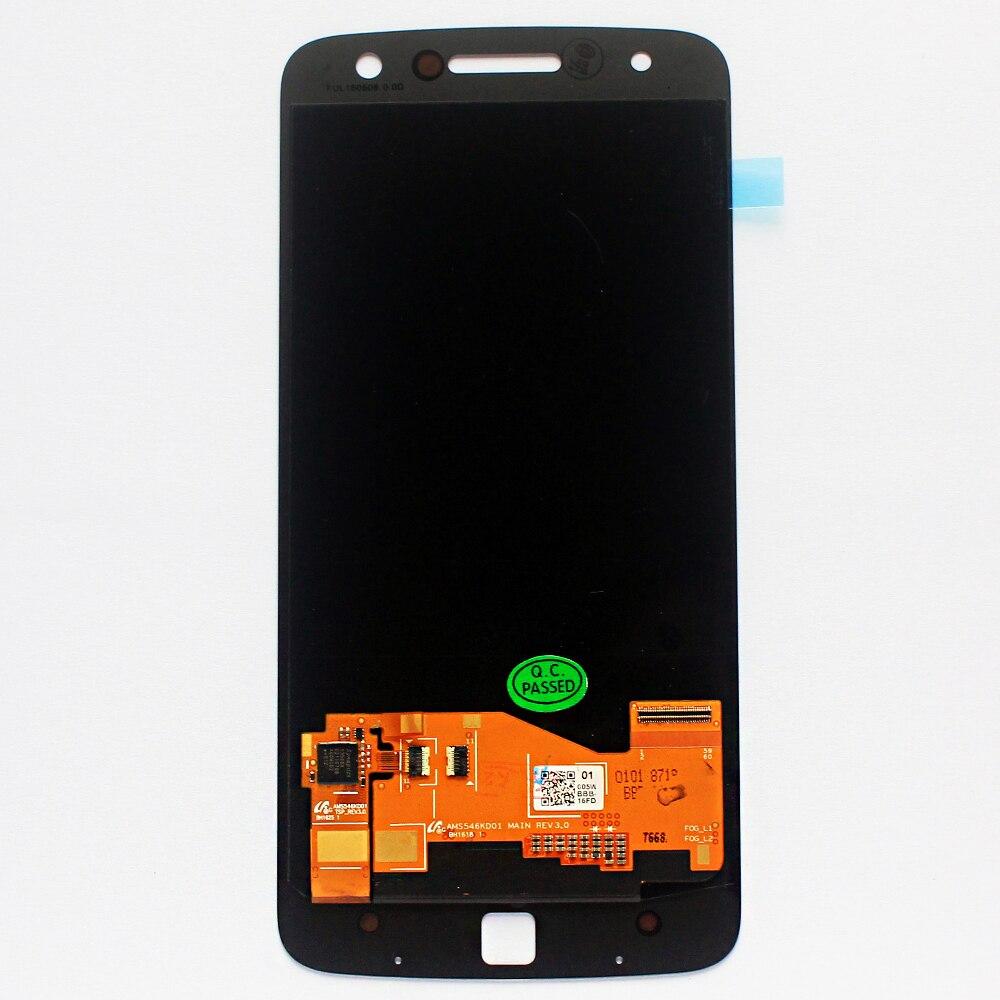 Display LCD Original Para Motorola MOTO Droid Z Edição XLTE XT1650 XT1650-03 Telefone LCD Touch screen Digitador Assembléia Sensor