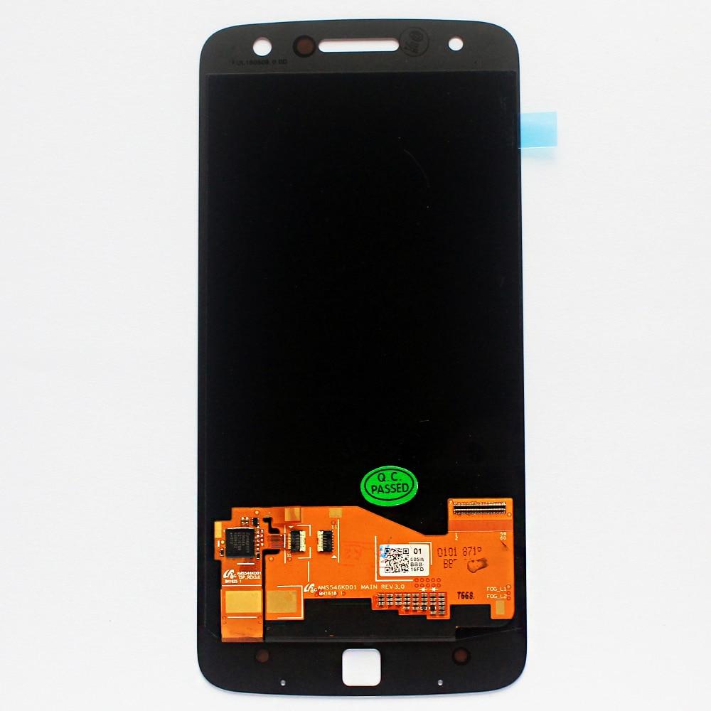 Ecran lcd d'origine Pour Motorola MOTO Z Droid Édition XLTE XT1650 XT1650-03 LCD Téléphone Tactile écran Numériseur Assemblée Capteur