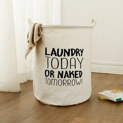 Cesta de lavandería de juguete de almacenamiento caja de soporte clasificador hoy normas de ropa organizador de almacenamiento para el hogar 40 cm 50 plegable con manija emergente