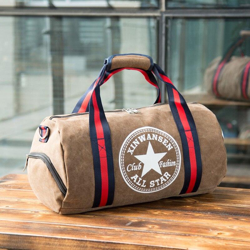 2018 bags female gym bag mens bag basketball training packages in football bag portable cylinder bag one shoulder