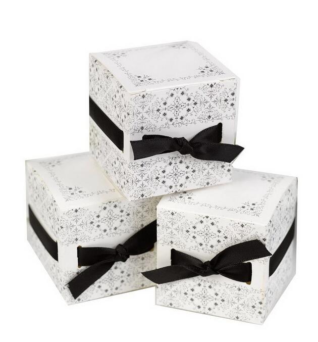 Creative Wedding Favor Box Flower Gift Decoration Bride And Groom Candy Party