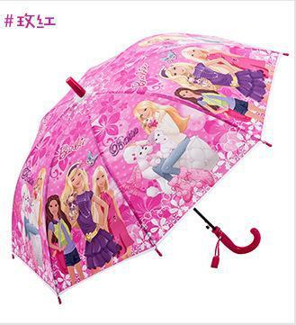 Childrens Barbie Umbrella