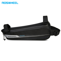 ROSWHEEL Road Bike Bicycle Cycling Top Tube Front Frame Bag Triangle Pannier Pack Lightweight Tear resistant Durable Bike Bag