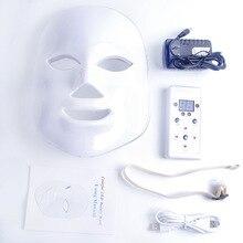 7 Colors Beauty Therapy Photon LED Facial Mask Light Skin Care Rejuvenation