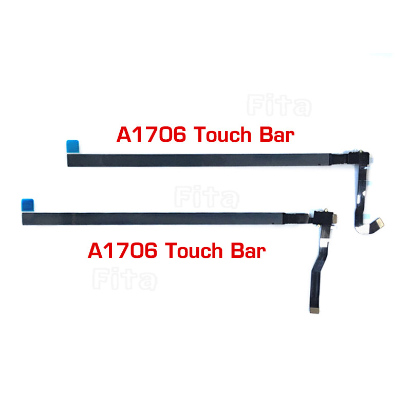 New Touchbar 821-00681-04 for Macbook Pro Retina 13 A1706 Touch Bar LED LCD Display Screen Bezel Panel Late 2016 Mid 2017 original 15 a1398 lcd screen display 2012 2013 2014 for macbook pro retina 15 4 a1398 lcd panel lp154wt1 sjav replacement
