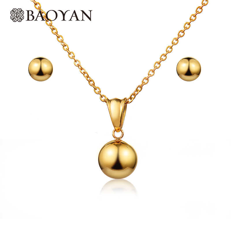 BAOYAN Simple Gold Plating สแตน