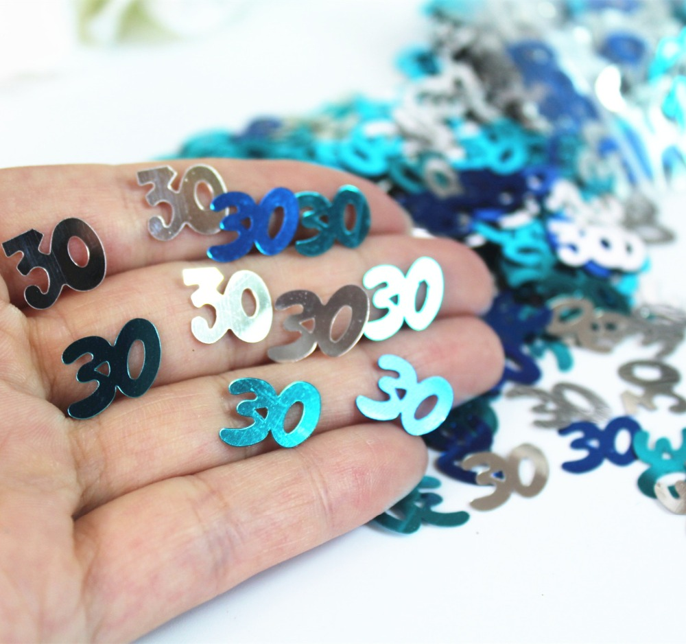 Compare Prices on Blue 30th Birthday Decorations Online Shopping