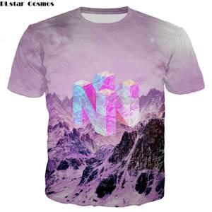 de0ff752f PLstar Cosmos 2018 summer T-shirt game Women Men t shirt