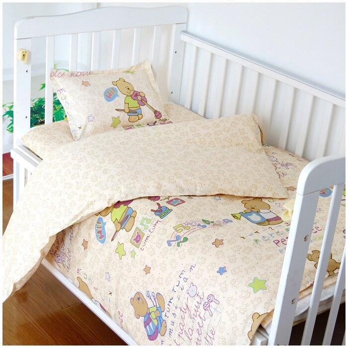 discount 6 7pcs baby bedding sets crib cot bassinette cot bedding set 120 60 120 70cm Promotion! 6/7PCS Baby Bedding Sets Crib Cot Bassinette Bumper Padded 120*60/120*70cm