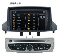 For Renault Megane III 2008~2013 Car GPS Navigation Radio DVD Player Stereo BT MFD HD Touch Screen System