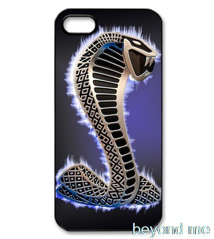 ford mustang shelby cobra logo cover case for iphone 4 4s 5 5s 5c 6 plus