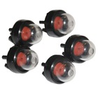 2018 5 pcs Snap In Primer Bulb Pump For Homeliter STHIL Ryobi ECHO McCulloch Poulan fit 45cc 52cc 58cc Chainsaw Carburetor